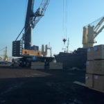 Кран Либхерр ГП 60 тонн на выносе